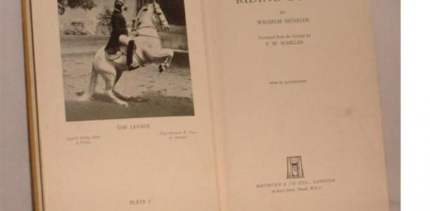 5.  Wilhelm Mueseler- Šolanje konja (uvod)